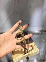 Wholesale home decor crystals resale online - 2019 Charm Key Holder KEY HOLDERS BAG CHARMS HOME DECOR FACETTES BAG CHARM KEY HOLDER M65216