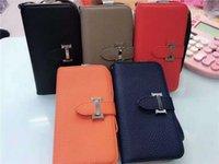 fre für iphone großhandel-Leder Brieftasche für Apple iPhone XS Max / XR 8/7/6 Plus mit Kartenhalter Hochwertige Flip Kickstand Stoßstange für Frauen Mädchen DHL Fre