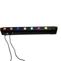 nachtclub bewegte scheinwerfer großhandel-Schneller Versand LED Bar Beam Moving Head Licht RGBW 8x12W Perfekt für Mobile DJ, Party, Nachtclub