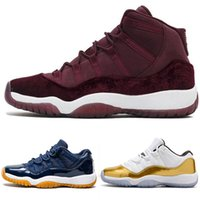 Wholesale color striped shoes resale online - Designer Platinum Concord Tint basketball shoes mens sports s Athletic sneakers Retro Bred Gym Red Chicago Midnight Navy shoes ER