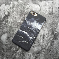 Wholesale wave paintings for sale - Group buy Oil painting ocean wave black and white anti shock anti shock mobile phone protective case mobile phone case FOR iphone6 S X plus