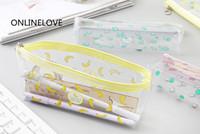 pochette banane achat en gros de-Sweet 3Models Banana, Pastèque BIG Volume 20 * 8CM Sac de monnaie PVC BAG Case; GIFT Coin Pencil BAG Etui portefeuille