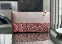 bleistifttasche machen großhandel-neue Marke Glitter Schminktäschchen Kosmetiktaschen Münze Bleistift Geldbörsen Brieftaschen Designer