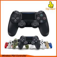 ingrosso ps4 libero-Top controller wireless SHOCK 4 Gamepad per joystick PS4 con pacchetto Retail Controller di gioco LOGO di Flydream DHL gratuito