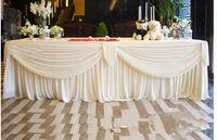 ingrosso tende decorate-3M valance decora i festoni del fondale decorano lo sfondo Mantel Mantle drop Party Curtain
