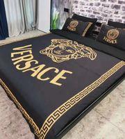 Wholesale bedding sets comforters resale online - Branded Stripe Flower Print Cotton Bedding Sets Designer Comfortable Home Textiles Including Duvet Cover Pillowcase Bedding Sheet