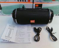 Wholesale TG116 Portable Wireless Speaker Outdoor Sport Bluetooth Loudspeaker Stereo Music Sound Sweatproof Column Support TF FM U disk AUX Line