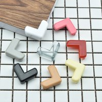 Wholesale baby home safety online - 8 Colors Baby Silicone Safety Table Corner Protection from Children Edge Corners Guards Cover Household Tool Home Decor Gadgets