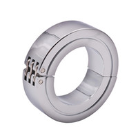 Wholesale cockring glans for sale - Group buy Men Penis Delay Ring Stainless Steel Cock Ring Cockring Glans Beads Penis Delay Ejaculation Ring Sex Toys for Man