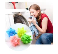 plastik çamaşırlar toptan satış-Sihirli Katı Yıkama Topları Dekontaminasyon Temizleme Topu Çamaşır Makinesi Yıkama Plastik Katı Çamaşır Araçları Anti-wrap Koruma Yıkama Giysileri