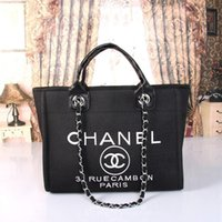 european american luxury handtaschen großhandel-Designer-Handtaschen Damentaschen Luxus-Handtasche Top-Qualität europäischen und amerikanischen Stil Paris Large Capacity Taschen Handtasche Hobos Totes Geldbörse