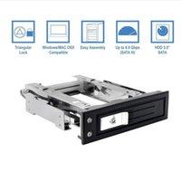 dahili disk sürücüsü toptan satış-Tek Defne Sıcak Takas Mobil Raf Için 3.5 SSD / HDD Dahili Tepsi Az SATA Sabit Disk Arka Panel Muhafaza