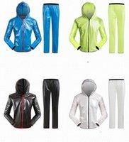 ingrosso arancione tees di golf-Impermeabile diviso per esterno moto pantaloni pioggia vestito adulto impermeabile PVC alpinismo neve equitazione poncho bicicletta impermeabile