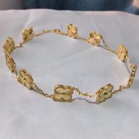 cadenas de collar multi cadena al por mayor-Top latón calidad excelentes con aretes de diamante colorido 18k oro verdadero plateado joyas de regalo de boda del partido PS5661