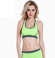 261c32a51f New Women s Sports Bra Sexy Racerback Stretch Finess Gym Bra Cropped Top  Push up Comfortable
