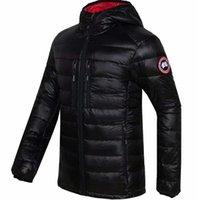 mejor invierno abajo chaqueta hombres al por mayor-2019 a prueba de viento impermeable chaqueta de red completa calidad mejor entrega de los nuevos hombres de la chaqueta de invierno canadiense sin abrir