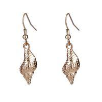 Wholesale classical earrings for sale - Group buy Unique Classical Colorful Shell Long Drop Earrings Women Girl Jewelry European Bohemia White Conch Dangle Earrings