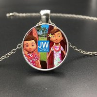 Wholesale pendant tray round silver cabochon for sale - Group buy Customized Photo necklace Crystal Glass Dome Cabochon Metal Tray Pendant Necklace Fashion Jewelry Accessories Gift Silver Necklace Style1