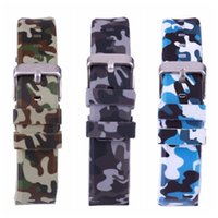 high quality Outdoor sports protective gear wrist watch with camouflage silicone strap men and women