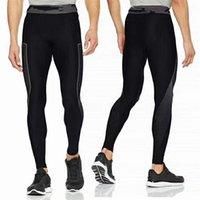 ingrosso pantaloni a strati di base-Leggings UA Compression da uomo aderenti ad asciugatura rapida sotto lo strato base Pantaloni elasticizzati skinny Pantaloni sportivi da jogging Allenamento sportivo C42401