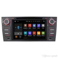 """navigation stéréo automatique d'écran tactile de pouce achat en gros de-Joyeux des véhicules à moteur Andorid simple 1 DIN B-MW E90 E91 E92 E93 7 """"multimédia multimédia de navigation de voiture GPS GPS Quad Core1024 * 600 Unité principale"""