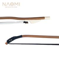 instrumentos china al por mayor-NAOMI Erhu Bow Chino Violín Arco Negro Caballo de pelo Cuerda de Alta Calidad Partes Accesorios de Accesorios Nuevo