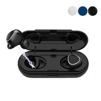 microphone pour casque achat en gros de-Xi7 TWS Écouteur Mini Bluetooth sans fil avec des écouteurs magnétiques avec micro casque sport mains libres stéréo sans fil casque vs Samsung Gear IconX