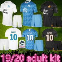 Wholesale maillot foot short resale online - maillot om Olympique de Marseille adult kit soccer jersey marseille Maillot De Foot PAYET ANGUISSA GOMIS jersey marseille shirts