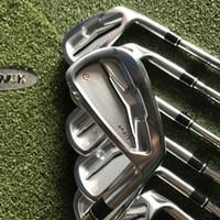 jogo de canhotos venda por atacado-Golf clubes Irons 503 Set 4-9P (7pcs) 950/850 R / S eixo de aço com tampa da cabeça.
