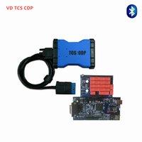voitures cdp keygen achat en gros de-NOUVEAU bleu pcb TCS CDP 2015.3 keygen avec Bluetooth Scanner pour camion de voiture même que ds150e obd obd2 delphis outil de diagnostic shi gratuit