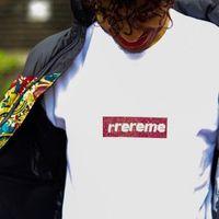 hommes rouges t shirts achat en gros de-19SS 25ème anniversaire Swarovski-Box L0go Tee Street Designer Commemorative Mens Designer T-shirt Femme Col Rond Noir Blanc Short Rouge HFSSTX234