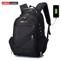 Wholesale swiss travelling bags for sale - Group buy MAGIC UNION Brand Design Men s Travel Bag Man Swiss Backpack Polyester Bags Waterproof Anti Theft Backpack Laptop Backpacks Men