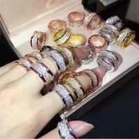 Wholesale ring men gold for sale - Group buy Size Classical Fashion Jewelry Handmade Titanium steel Rose Gold Fill Pave White Clear A Cubic Zircon Women Wedding Band Ring For Men