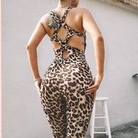 Wholesale women new arrivals clothing for sale - Fashion New Arrival Womens Jumpsuits Casual Summer Sexy Sleeveless Women Jumpsuits Hot Women Leopard Rompers Tops Clothing