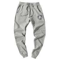 Wholesale anime sportswear resale online - New Japanese Anime Dragon Ball Cotton Men Full Sportswear Pants Casual Elastic Cotton Mens Fitness Workout Pants Skinny