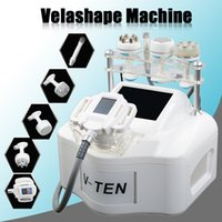 Wholesale body radio frequency resale online - Velashape Cellulite Slimming Machine Vacuum Massage Weight Loss Face Lifting Body Shaping Cavitation Radio Frequency Velashape Machine