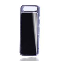 mini metal dijital mp3 toptan satış-6 adet Metal kasa WAV formatı 200 mAh pil mini ses kaydedici dijital mp3 incelemesi ses kaydedici ile anahtarlık