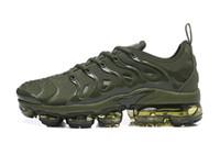 sapatos de corrida grátis rosa cinza venda por atacado-Nike Air TN Plus Nova marca Plus TN Ultra Verde Azul Cinza Rosa Camo Running Shoes Para Mulheres Dos Homens de Alta Qualidade Calçados Esportivos Sneakers Frete Grátis