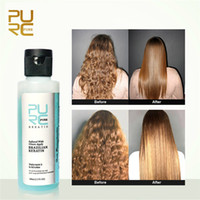 Wholesale apple care for sale - Group buy PURC Apple flavor Keratin treatment Straightening hair Repair damage frizzy hair Brazilian keratin treatment hair care