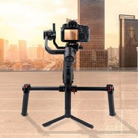 Wholesale camera handle grip resale online - Gimbal Grip Dual Handle Accessories Professional Aluminum Alloy Camera Handle Bar Photography Bracket Outdoor Tool For Ronin S