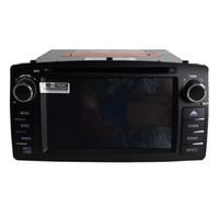 rádio para corola venda por atacado-Novo frete grátis leitor de DVD Carro para Corolla E120 2003 2004 2005 2006 2007 2008 navegação por GPS leitor de rádio bluetooth câmera suporte
