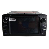 kadife telsiz gps toptan satış-Yeni ücretsiz kargo Corolla E120 2003 için Araba DVD oynatıcı 2004 2004 2005 2006 2007 2008 gps navigasyon bluetooth radyo çalar Destek kamera