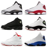 bbc5823d0598eb Top Jumpman 13 13s Hommes Rétro Chaussures de Basket Bred Flints Histoire de  Vol Altitude XIII Chaussures de Sport Designer Athlétisme Baskets US 7-13