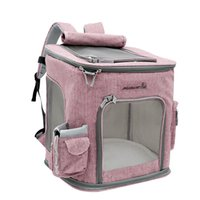 ingrosso zaini portano i cani-Cat Carrying Extra Large Pet Zaino per animali da 10 Kg Cane Traspirante Pet Carrier Outdoor Travel Borsa a tracolla portatile per animali domestici L D19011201