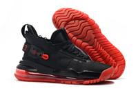 ingrosso scarpe dimensioni 23-2019 New Jumpman 23 x Designer 720 Triple Black China Scarpe a rulli rossi per scarpe da ginnastica all'aperto da uomo di alta qualità. Scarpe taglia 40-46