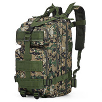 Wholesale outdoor backpack 3p bag for sale - Group buy 30L P Tactical Backpack Oxford Sport Bag Hunting Assault Camouflage Outdoor Bag For Camping Hunting Hiking Trekking