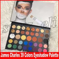 Wholesale eyeshadow palette for sale - New Makeup James Charles Eye Beauty Colors Matte Natural Long lasting Colors Eyeshadow Palette