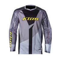 Wholesale jersey thor resale online - KLIM Raytheon THOR downhill suit jacket men s long sleeve summer mountain bike off road motorcycle Jersey