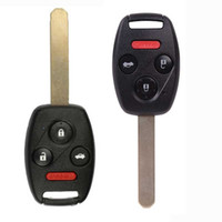 Wholesale replacement honda keys resale online - 4Buttons Replacement For Honda Accord Remote Keyless Entry Key Fob KR55WK49308