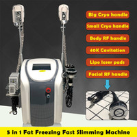 Wholesale rf lipo machine for sale - Group buy Hot Sale Original Zeltiq Cryolipolysis Fat Freezing Slimming Machine Cryotherapy Face RF Ultrasound RF Liposuction Lipo Laser Machine